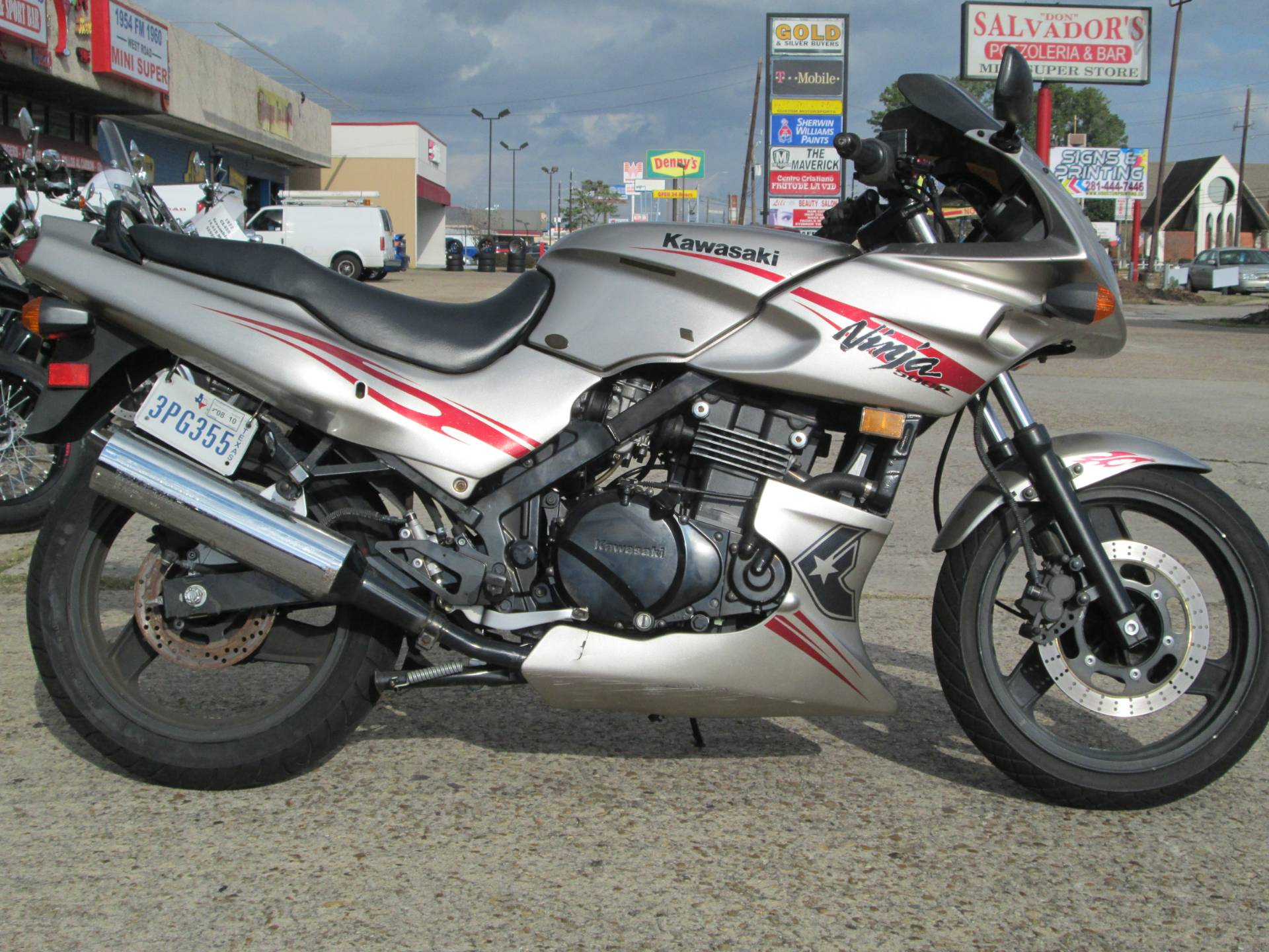 2007 Kawasaki Ninja® 500R in Houston, Texas