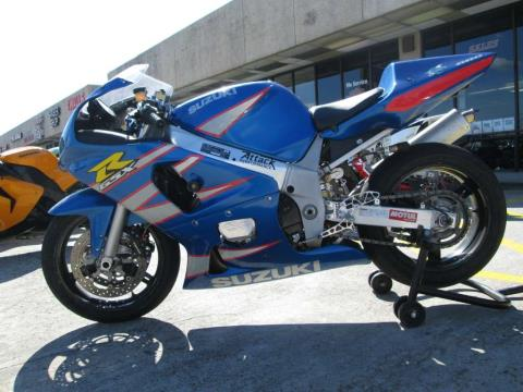 2002 Suzuki GSX-R600 in Houston, Texas
