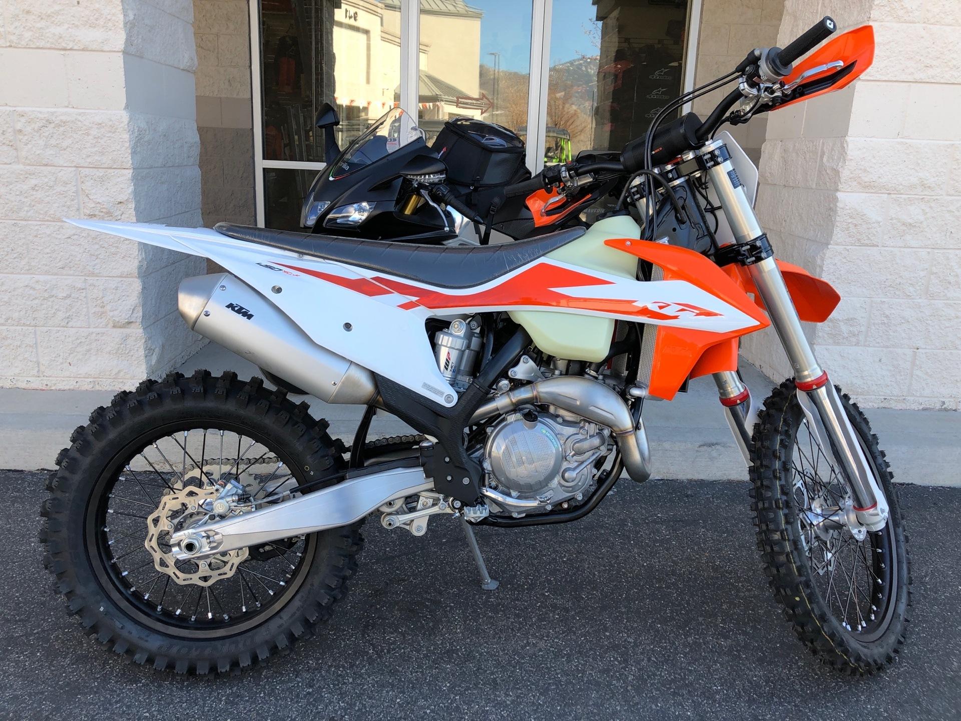 New 2020 KTM 450 XC-F | Motorcycles in Laredo TX | Orange