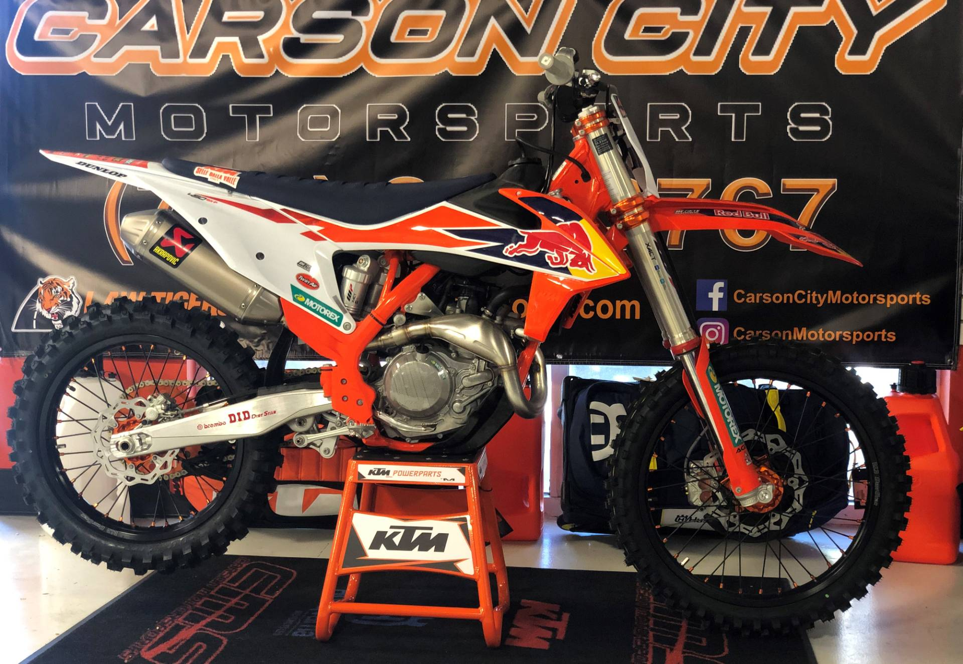 2019 KTM 450 SX-F Factory Edition in Carson City, Nevada