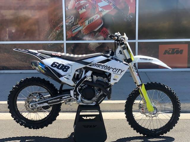 2018 Husqvarna FC 350 in Carson City, Nevada - Photo 1