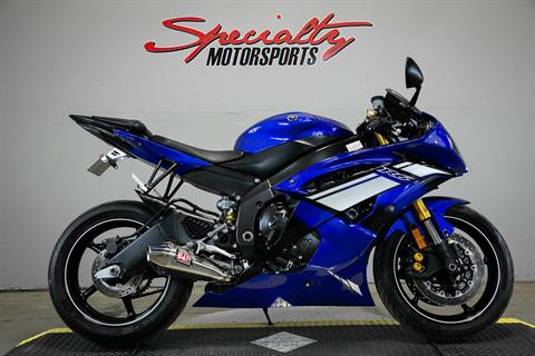 2012 Yamaha YZF-R6 in Sacramento, California