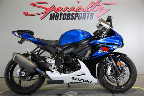 2014 Suzuki GSX-R600™ in Sacramento, California - Photo 1