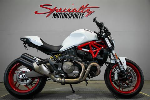 2015 Ducati Monster 821 in Sacramento, California