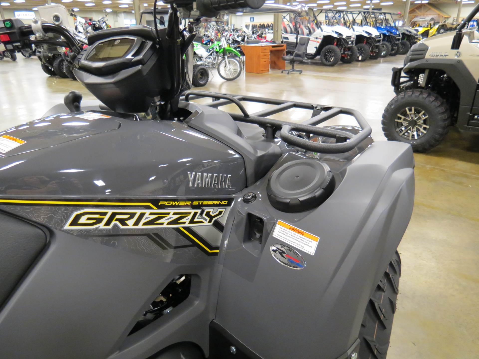 2018 Yamaha Grizzly EPS in Romney, West Virginia