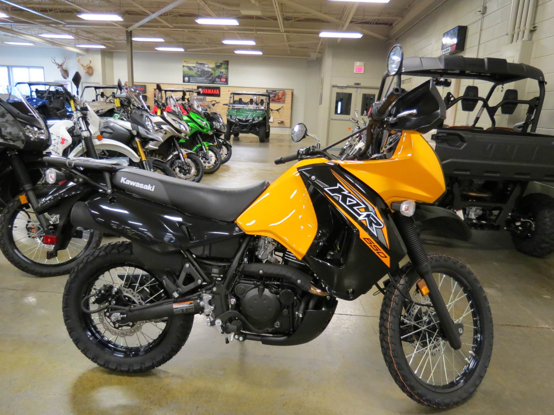 2018 Kawasaki KLR650 in Romney, West Virginia