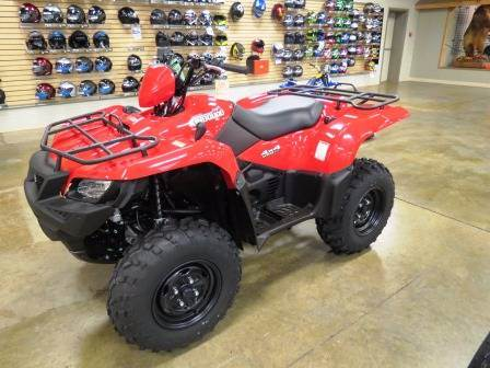 2017 Suzuki KingQuad 500AXi in Romney, West Virginia