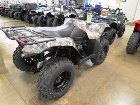 2017 Suzuki KingQuad 400ASi Camo in Romney, West Virginia