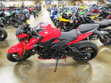 2018 Suzuki GSX-S750 in Romney, West Virginia