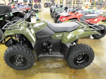 2017 Suzuki KingQuad 400FSi in Romney, West Virginia