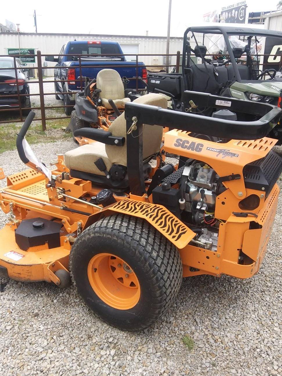 2018 SCAG Power Equipment Turf Tiger II 61 in. Briggs-Vanguard 31 hp in Chillicothe, Missouri - Photo 3