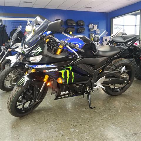 2020 Yamaha YZF-R3 ABS Monster Energy Yamaha MotoGP Edition in Moline, Illinois