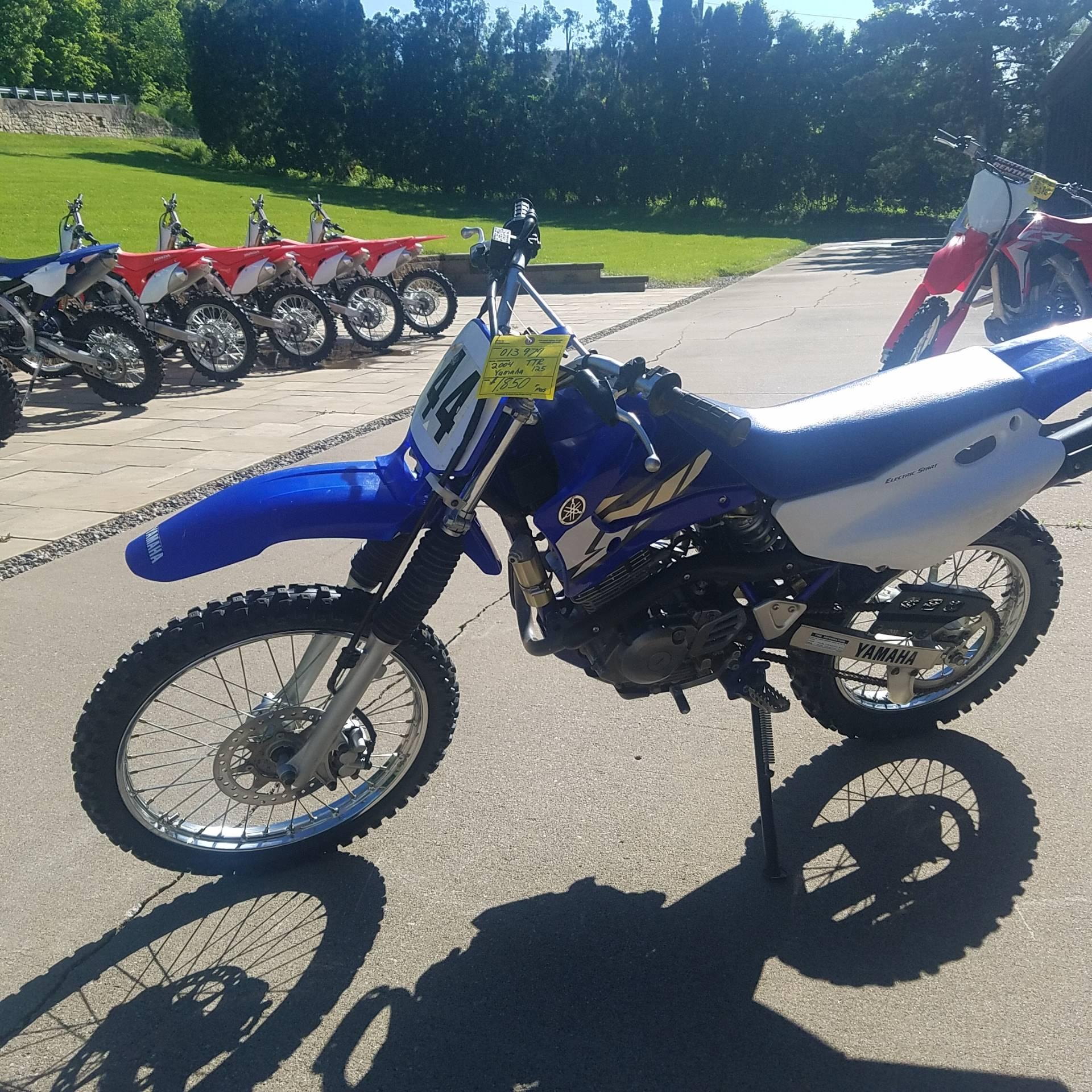 2004 Yamaha TTR125LE 1