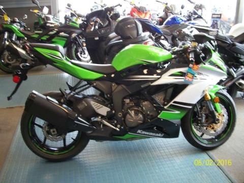 2015 Kawasaki Ninja® ZX™-6R SE in New Castle, Pennsylvania