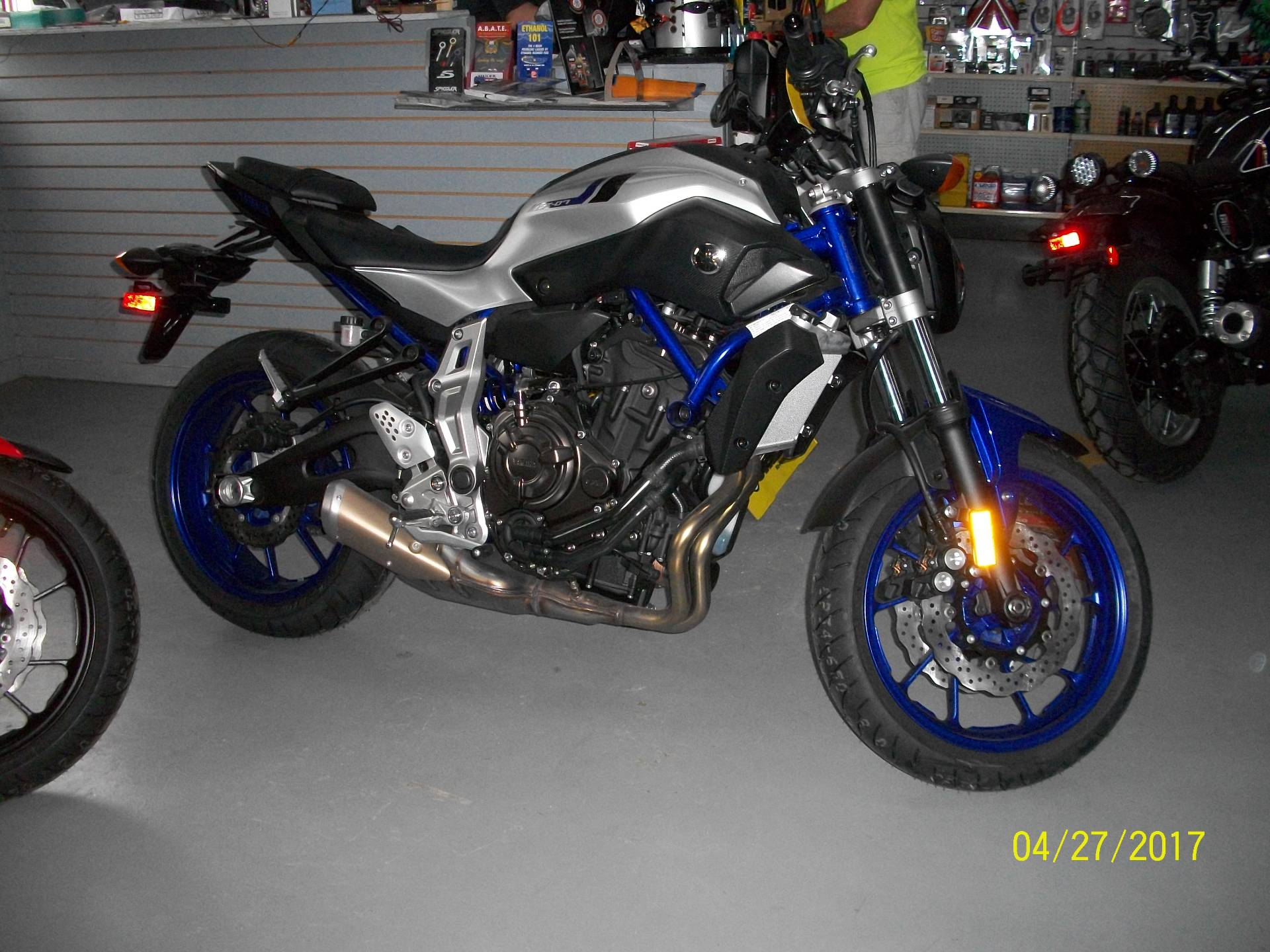 2016 Yamaha FZ-07 1