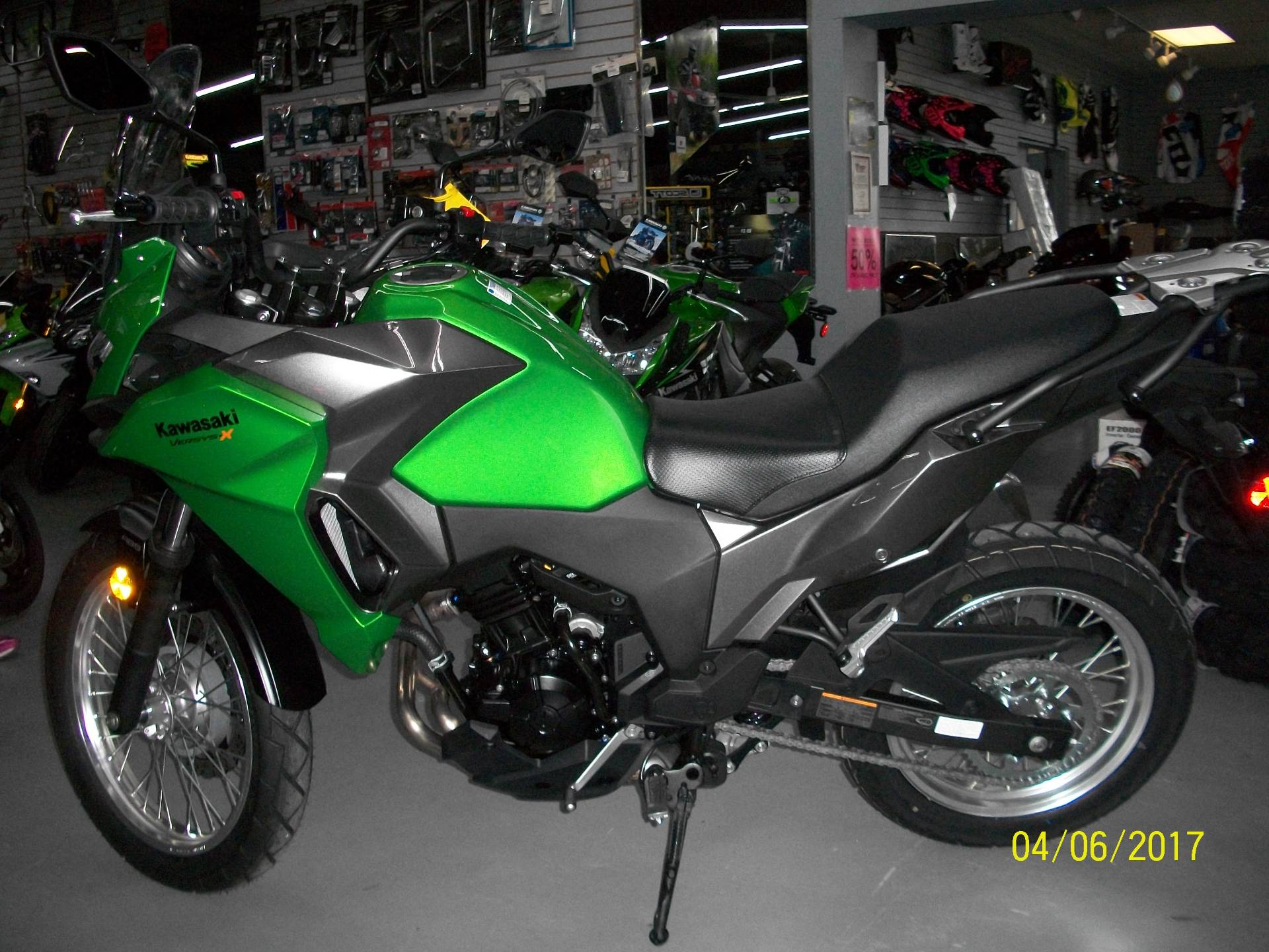 2017 Kawasaki Versys-X 300 in New Castle, Pennsylvania