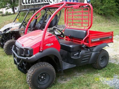 2017 Kawasaki Mule SX 4x4 SE in New Castle, Pennsylvania
