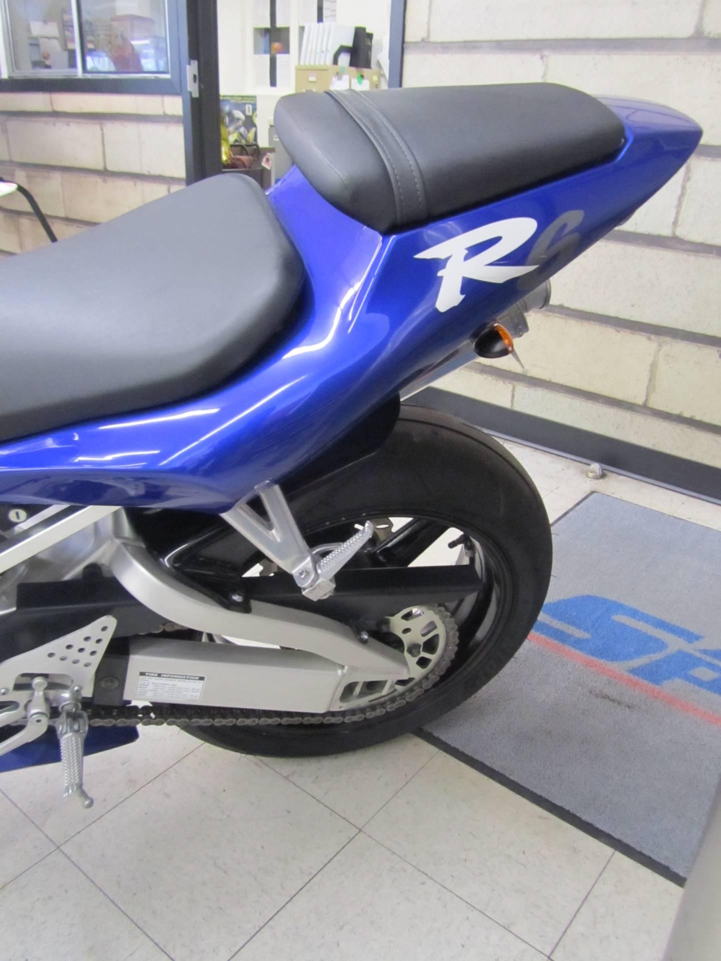 2002 Yamaha YZFR6 2