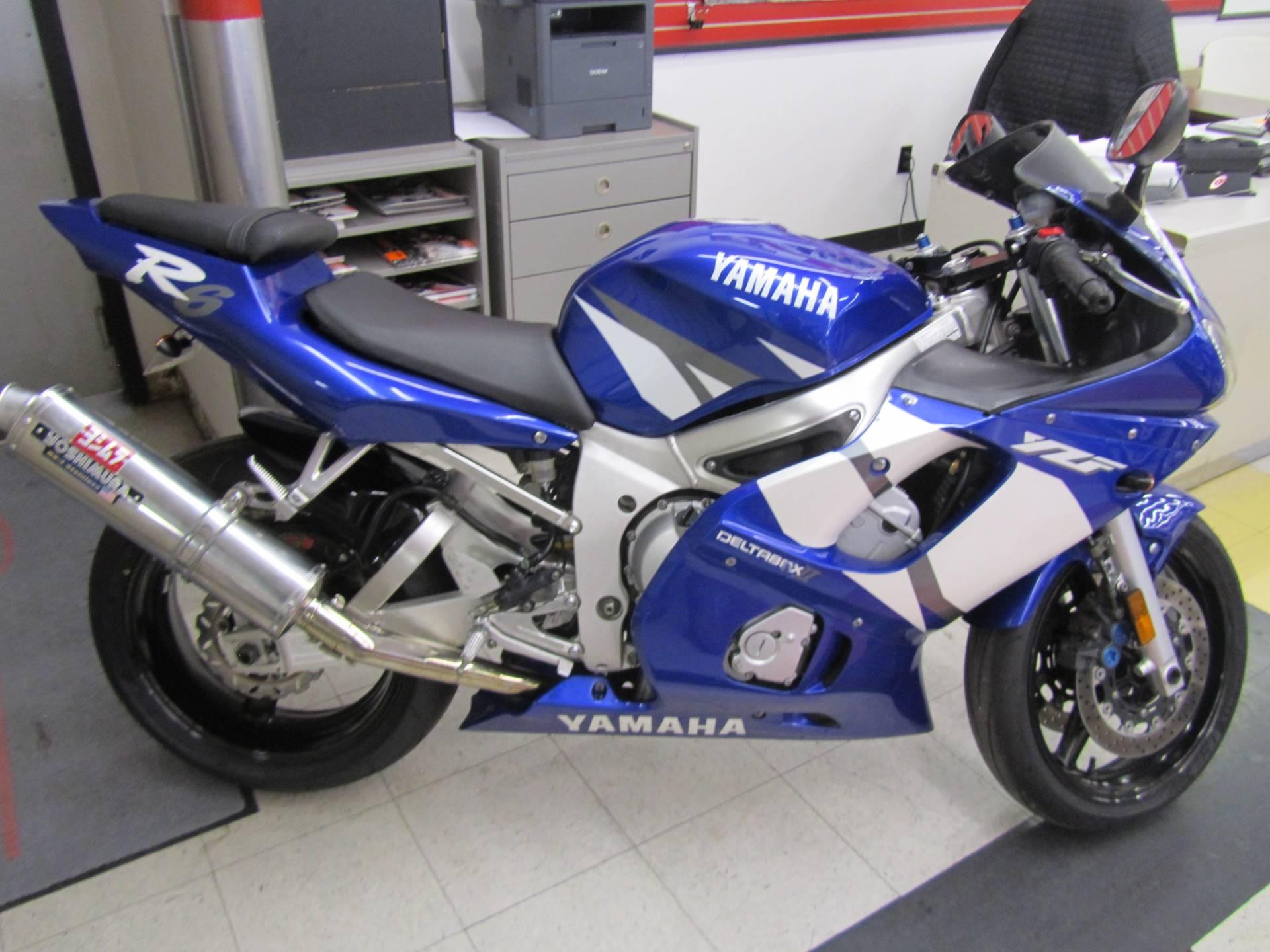 2002 Yamaha YZFR6 5