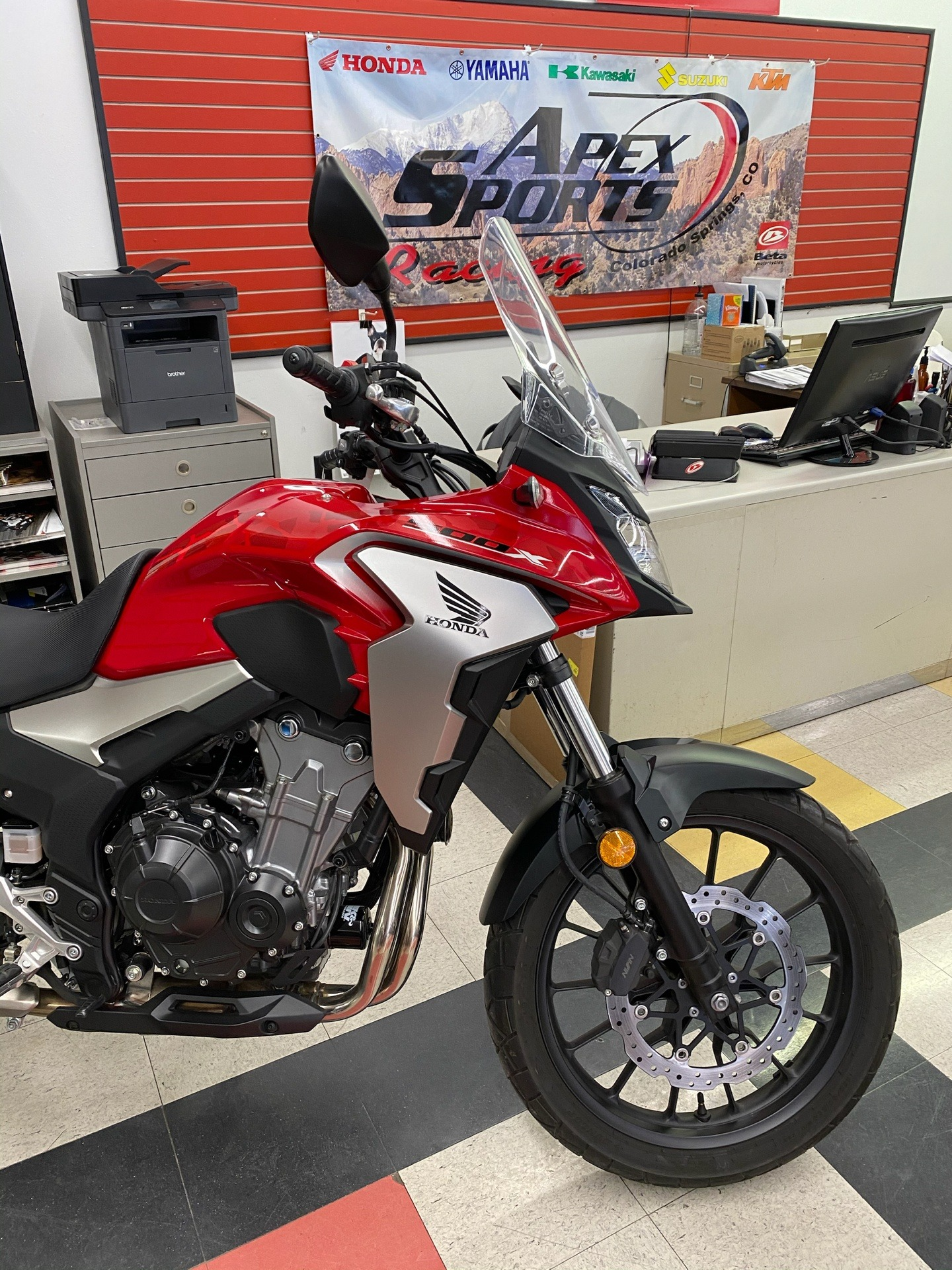 2019 Honda CB500X in Colorado Springs, Colorado - Photo 6