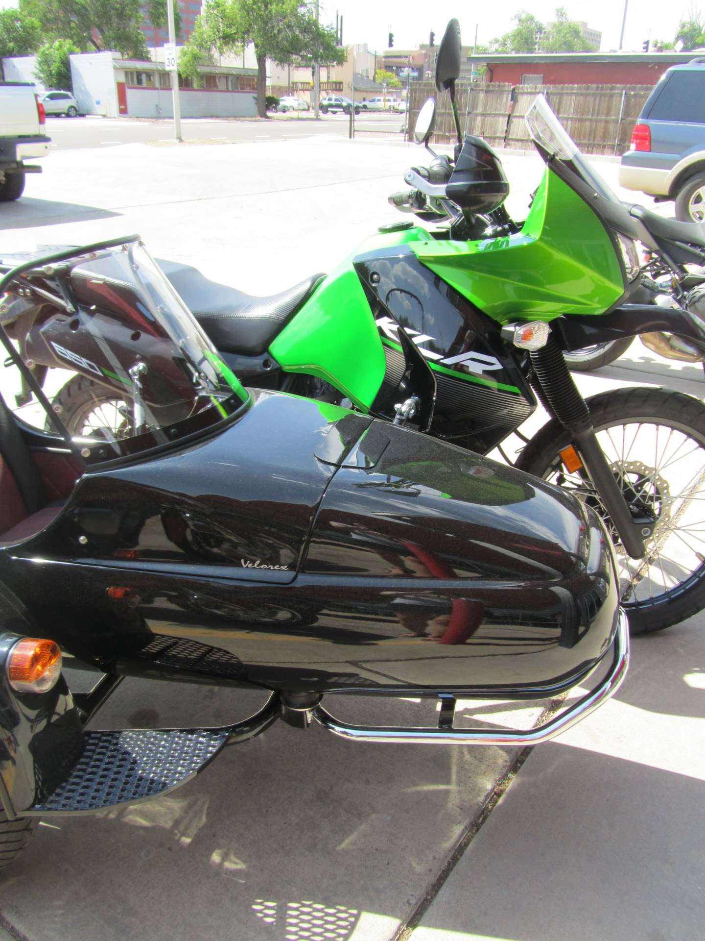 2015 Kawasaki KLR™650 in Colorado Springs, Colorado