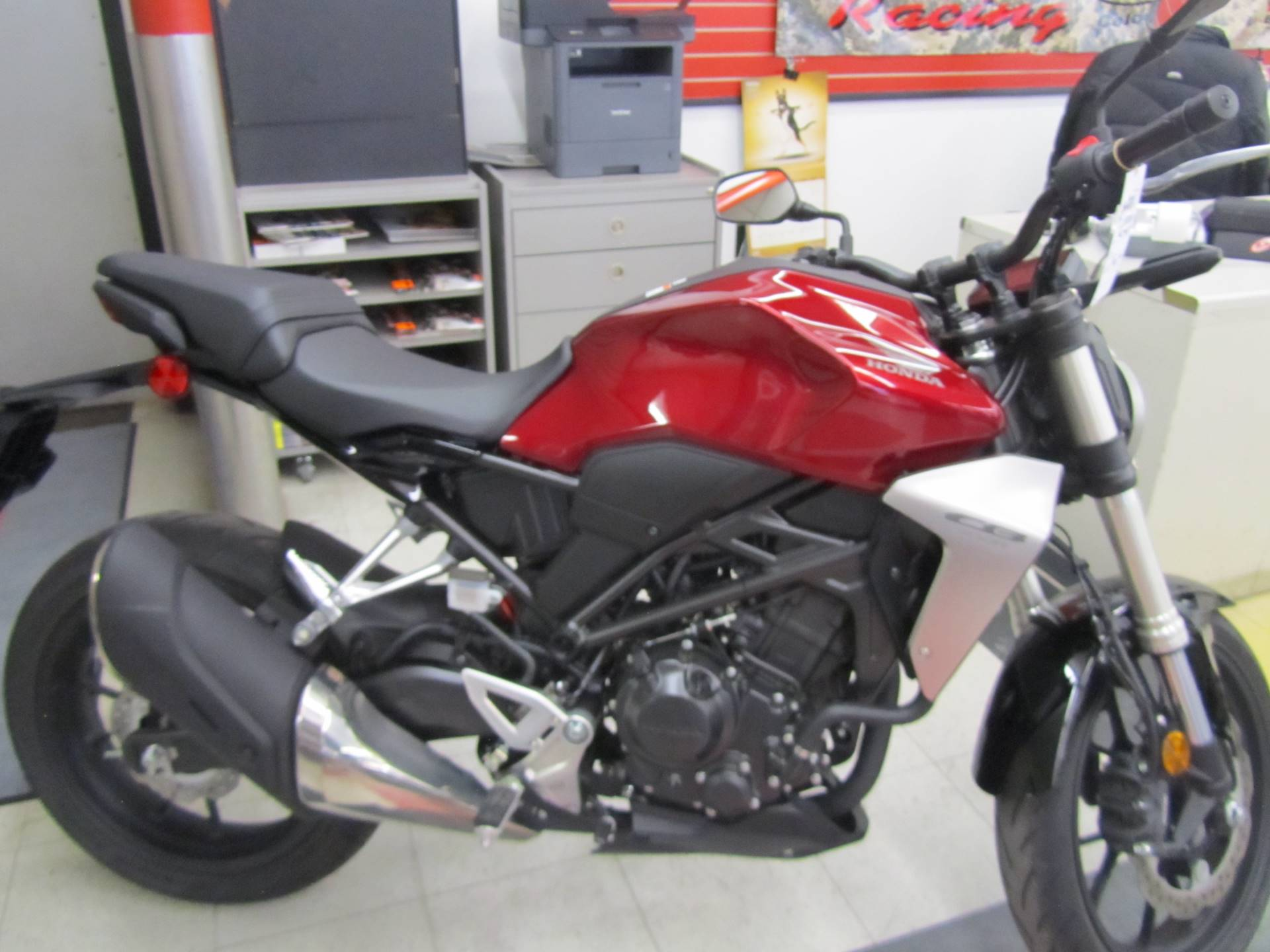 2019 Honda CB300R ABS in Colorado Springs, Colorado