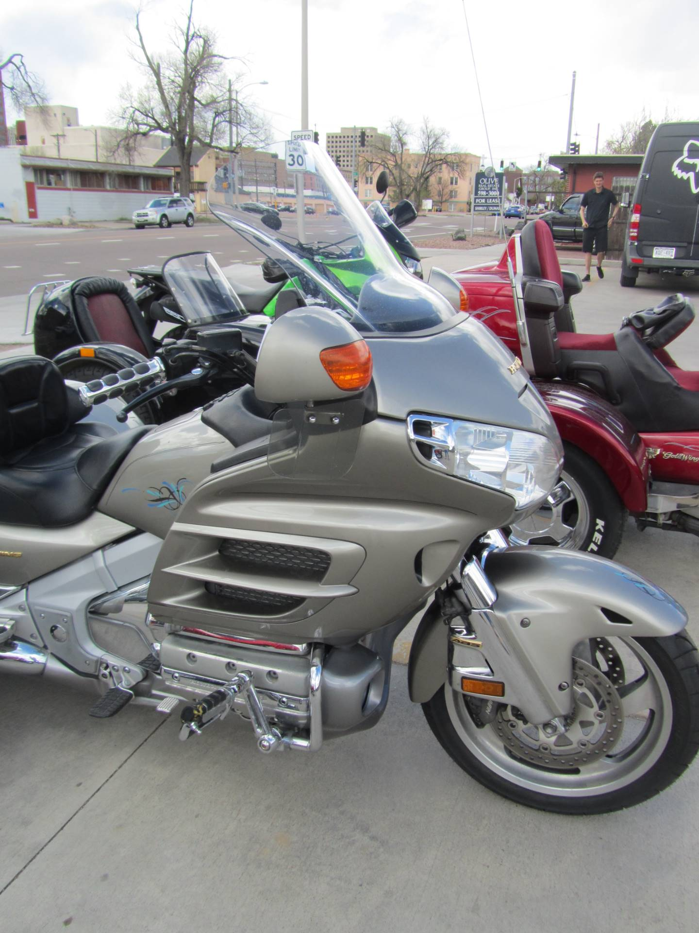 2003 Honda GL1800 WITH DCT TRIKE in Colorado Springs, Colorado - Photo 2