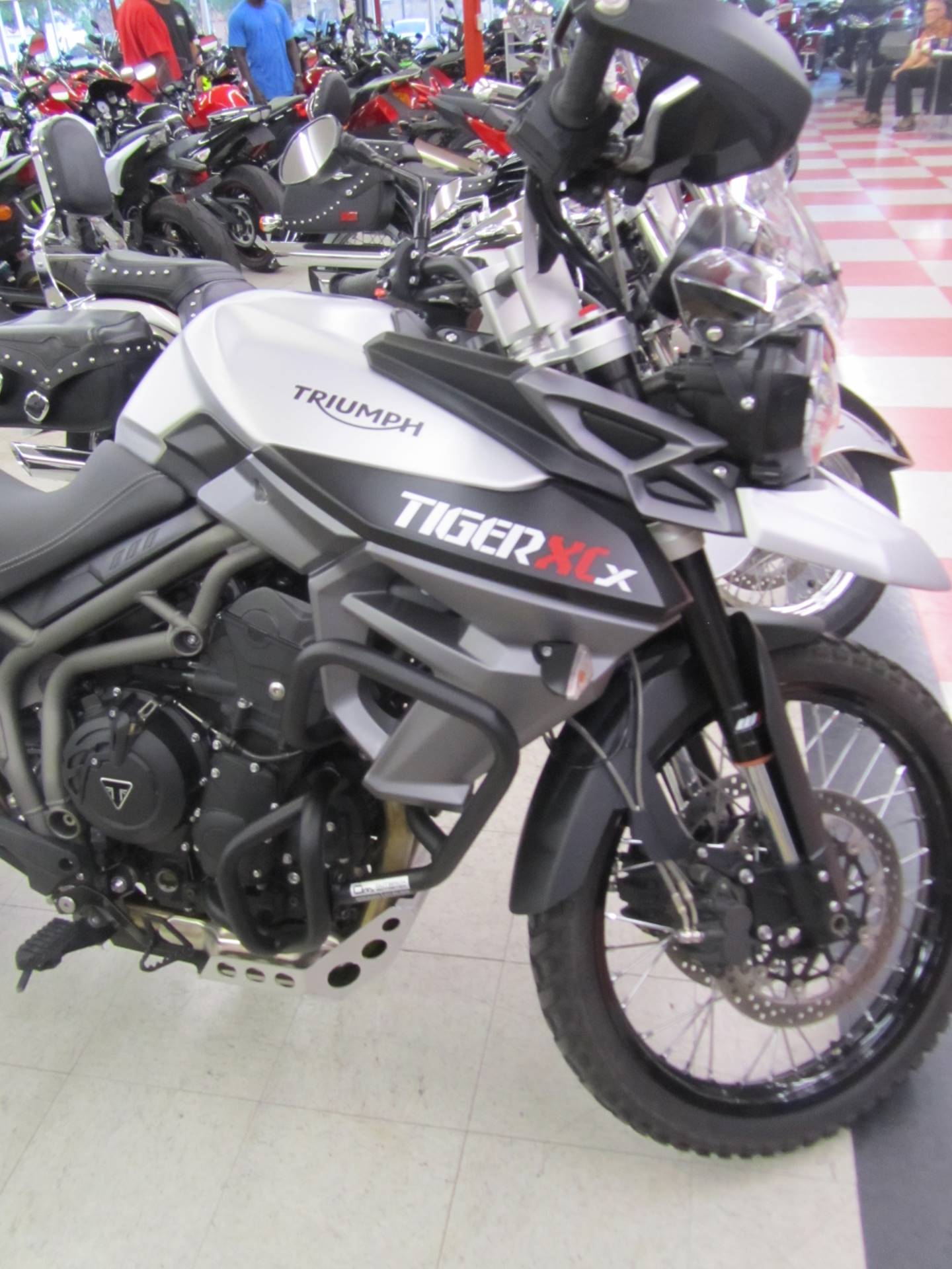 2017 Triumph Tiger 800 XCx in Colorado Springs, Colorado