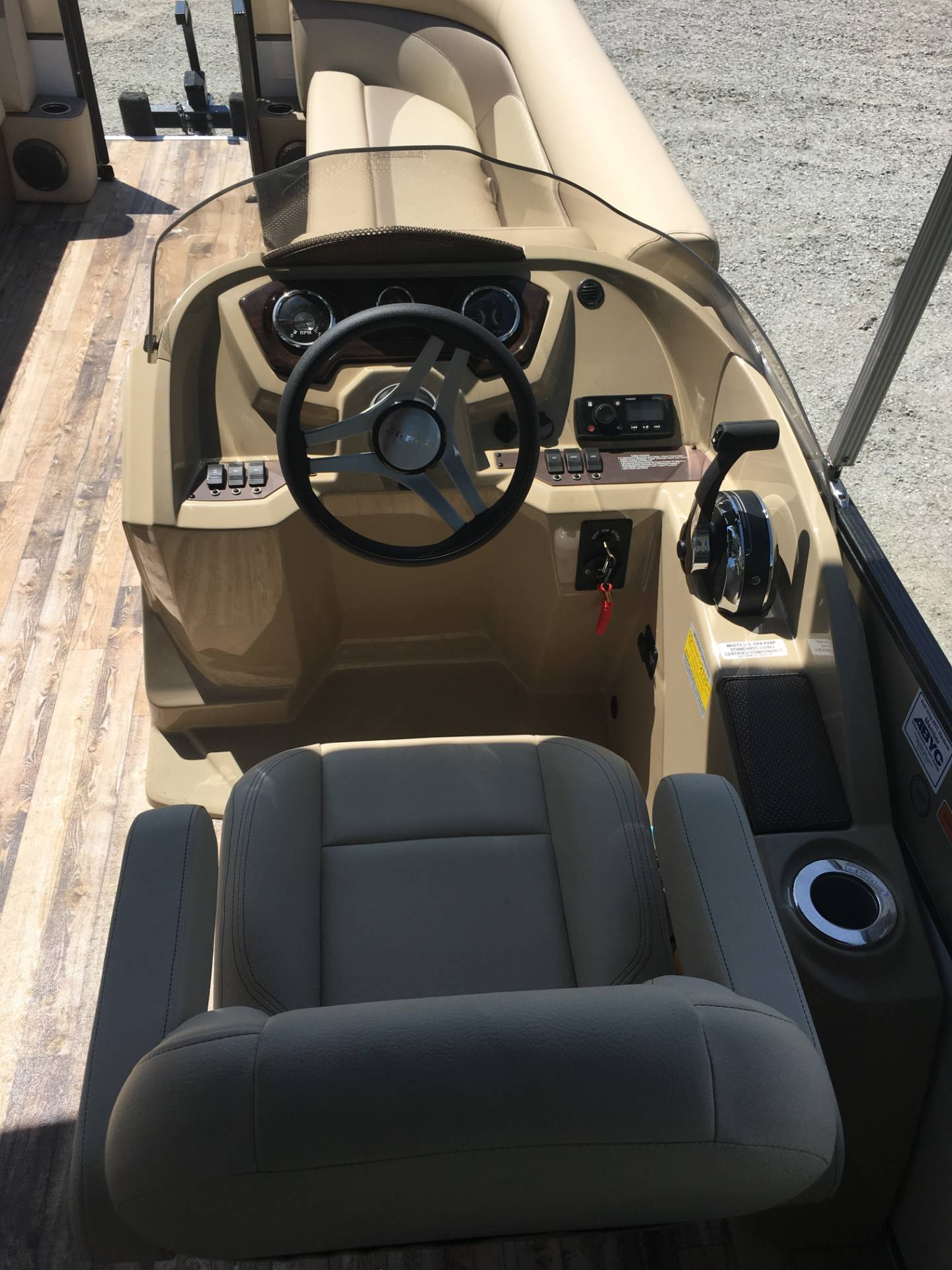 2018 Crest Marine CREST II 250 SLC in Ponderay, Idaho
