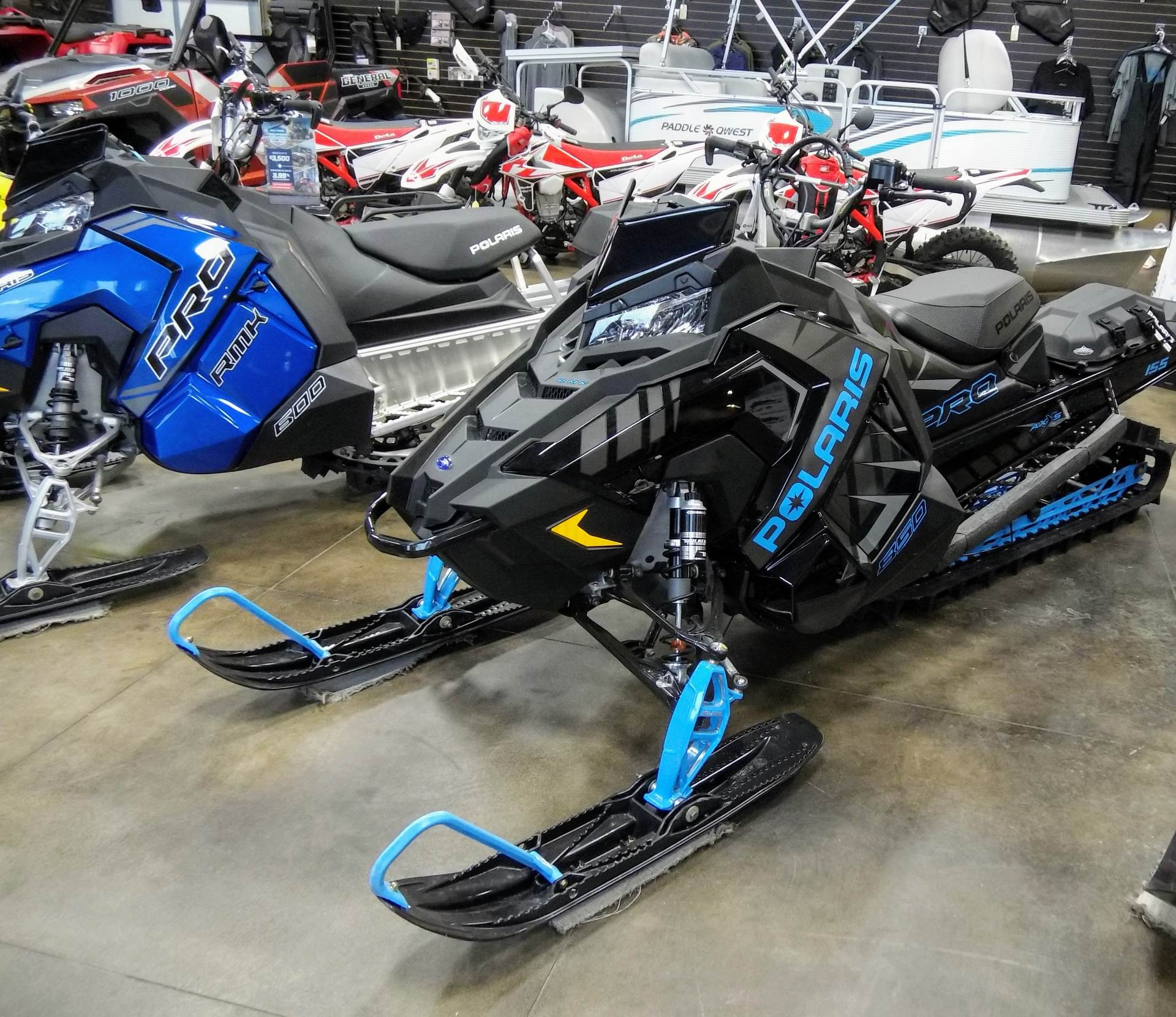 2020 Polaris 850 PRO RMK 155 SC in Ponderay, Idaho - Photo 2