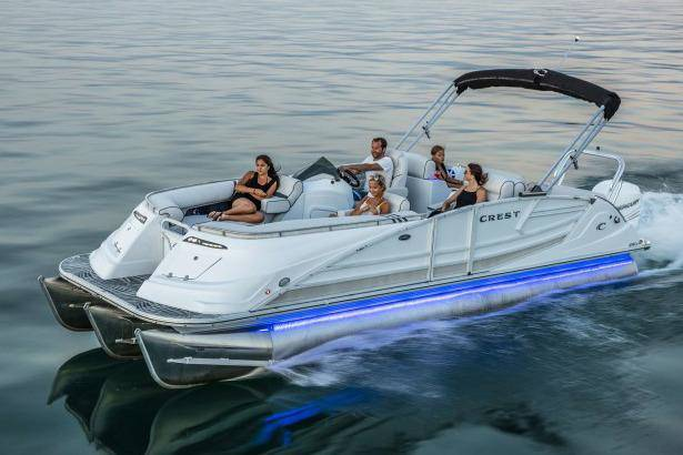 2018 Crest Marine Savannah 250 SLS in Ponderay, Idaho