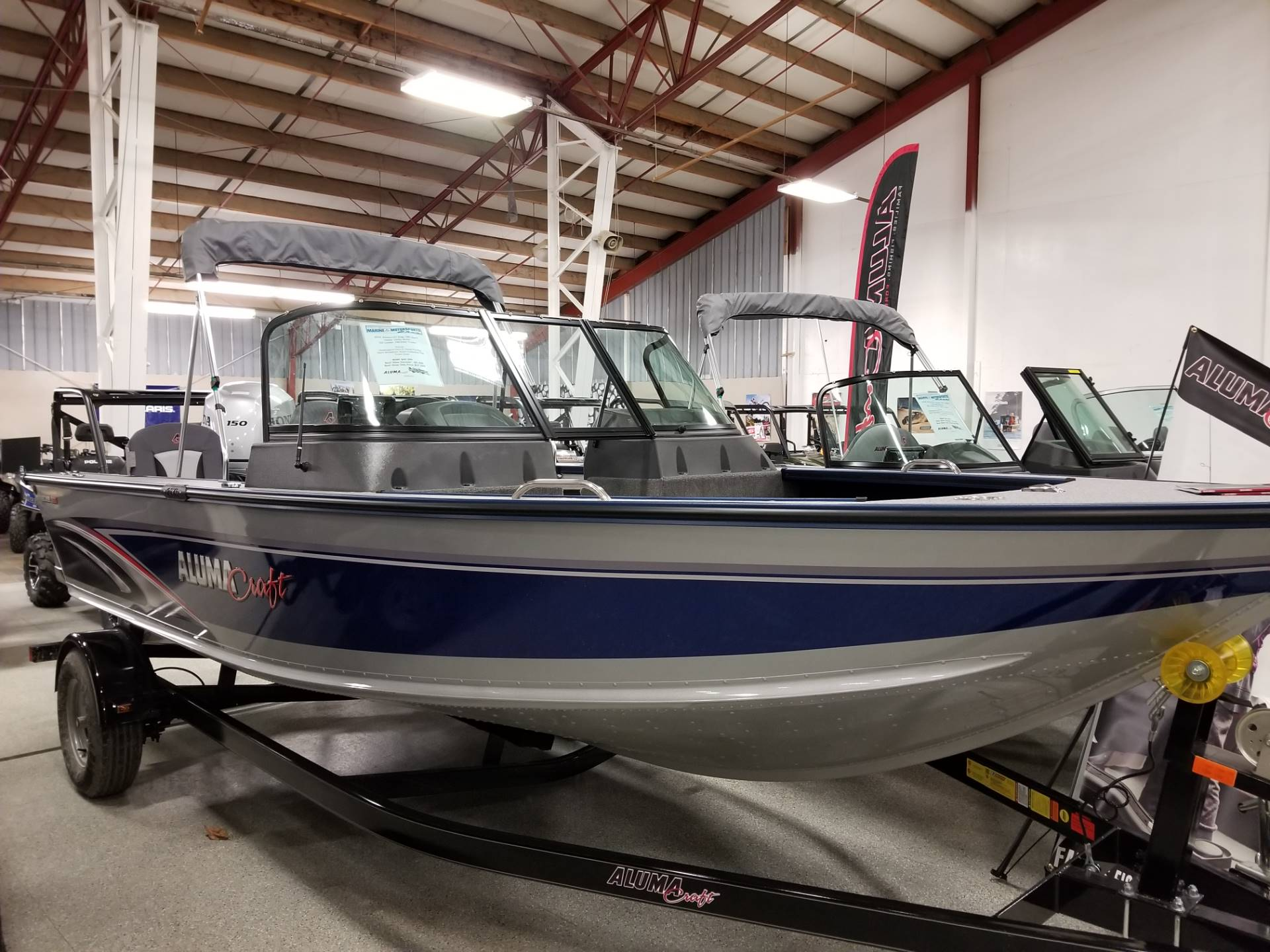 2018 Alumacraft EDGE 185 SPORT in Ponderay, Idaho