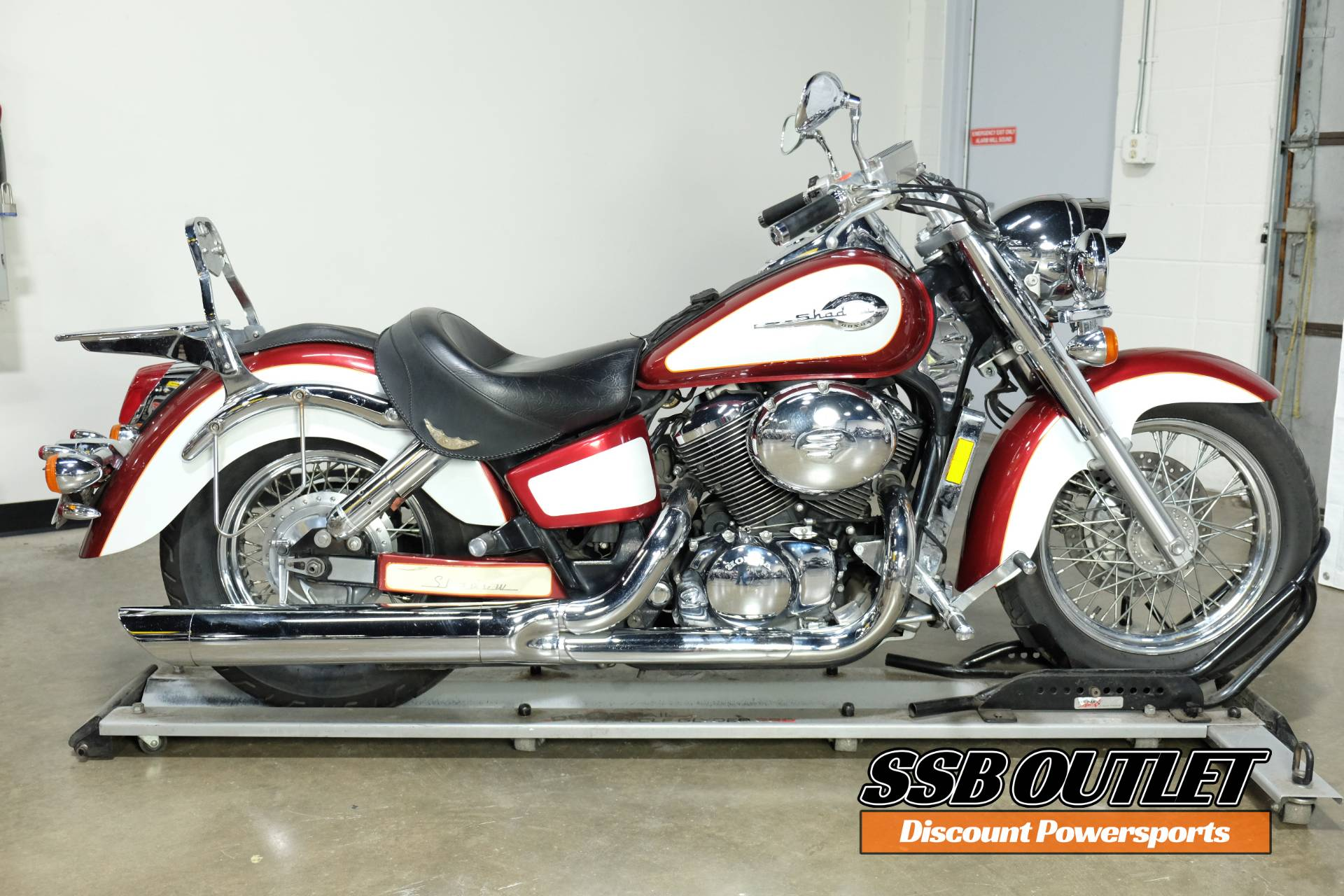 2001 Honda Shadow Ace Tourer in Eden Prairie, Minnesota - Photo 1