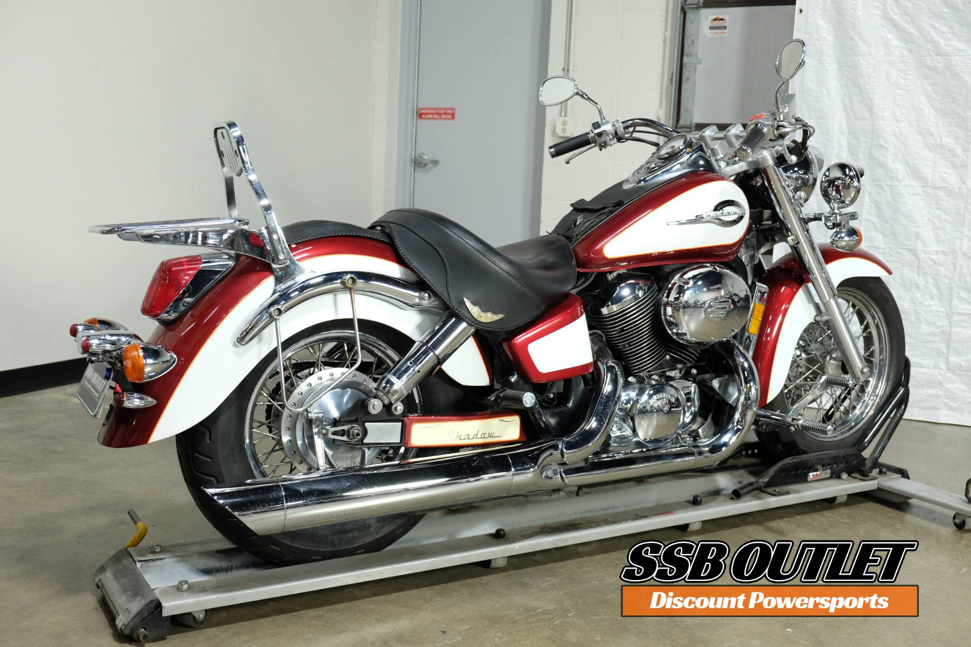 2001 Honda Shadow Ace Tourer in Eden Prairie, Minnesota - Photo 6