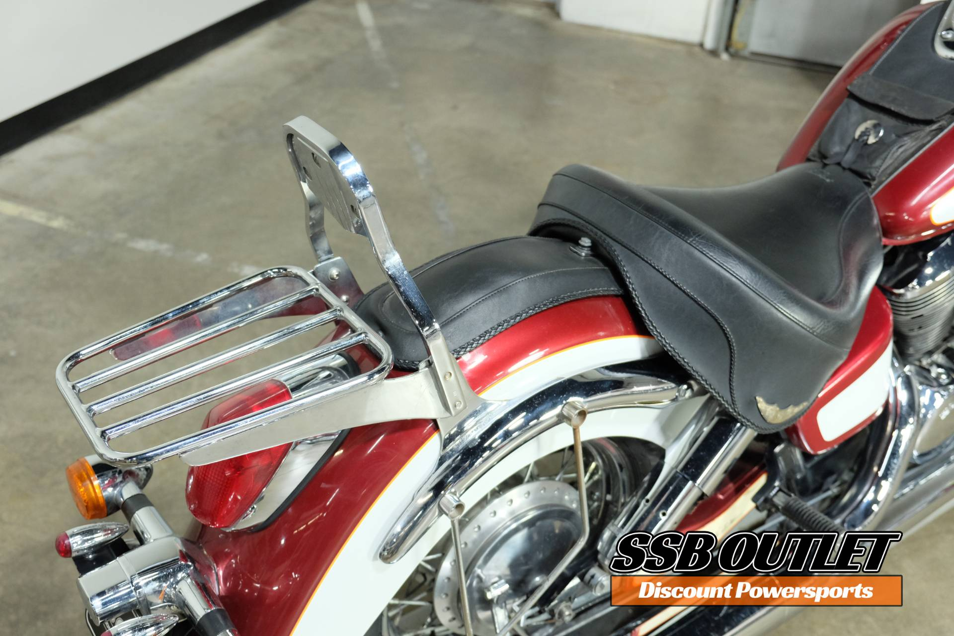 2001 Honda Shadow Ace Tourer in Eden Prairie, Minnesota - Photo 11