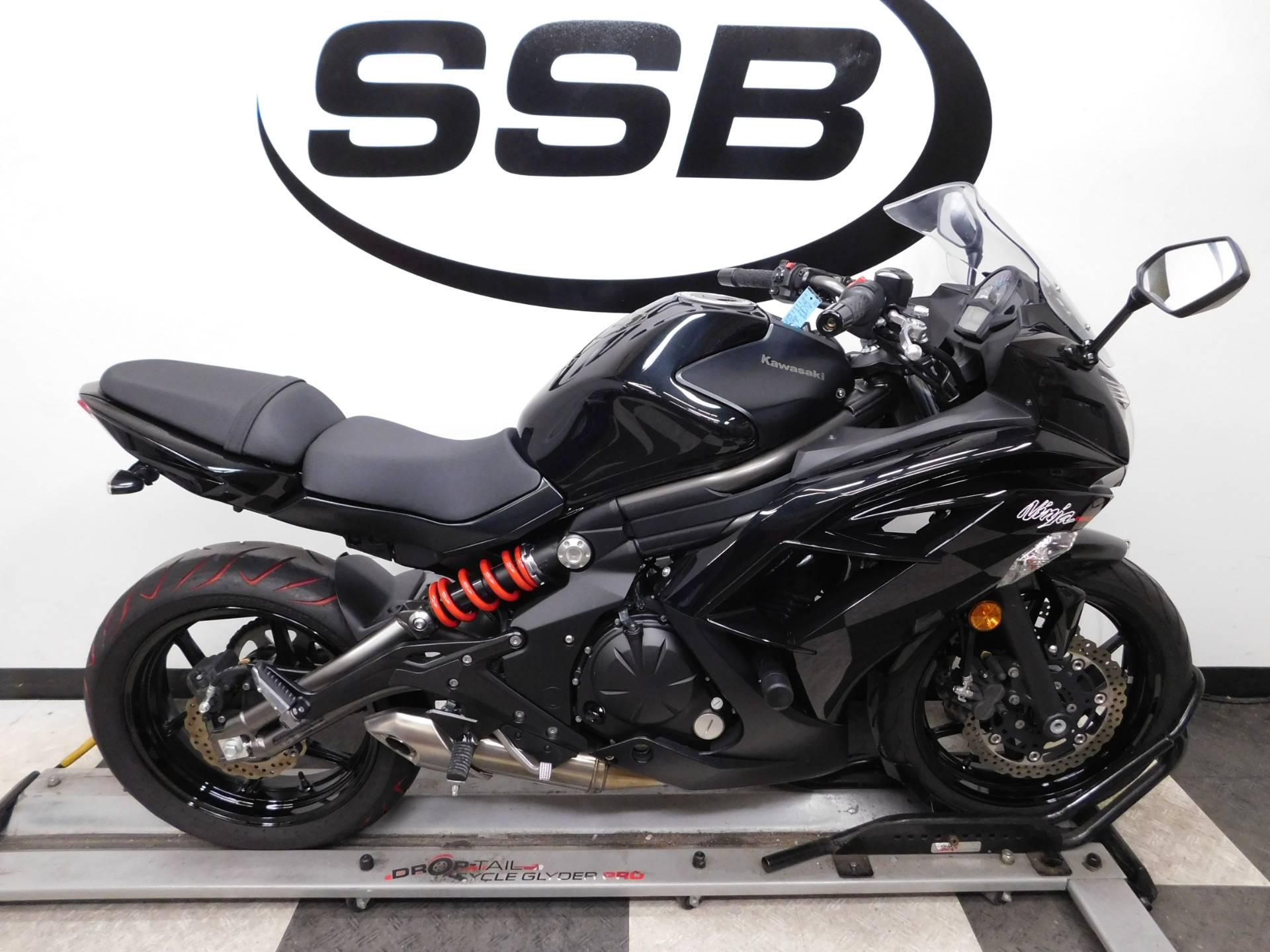 2012 Kawasaki Ninja 650 1