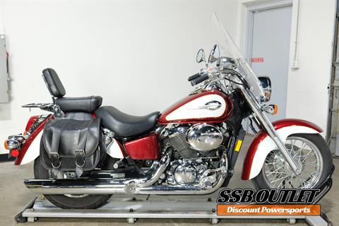 2001 Honda Shadow Ace 750 Deluxe in Eden Prairie, Minnesota - Photo 1