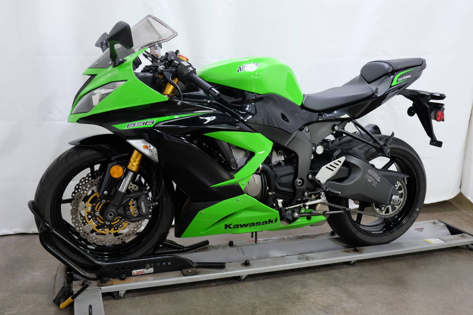 2013 Kawasaki Ninja® ZX™-6R in Eden Prairie, Minnesota - Photo 4