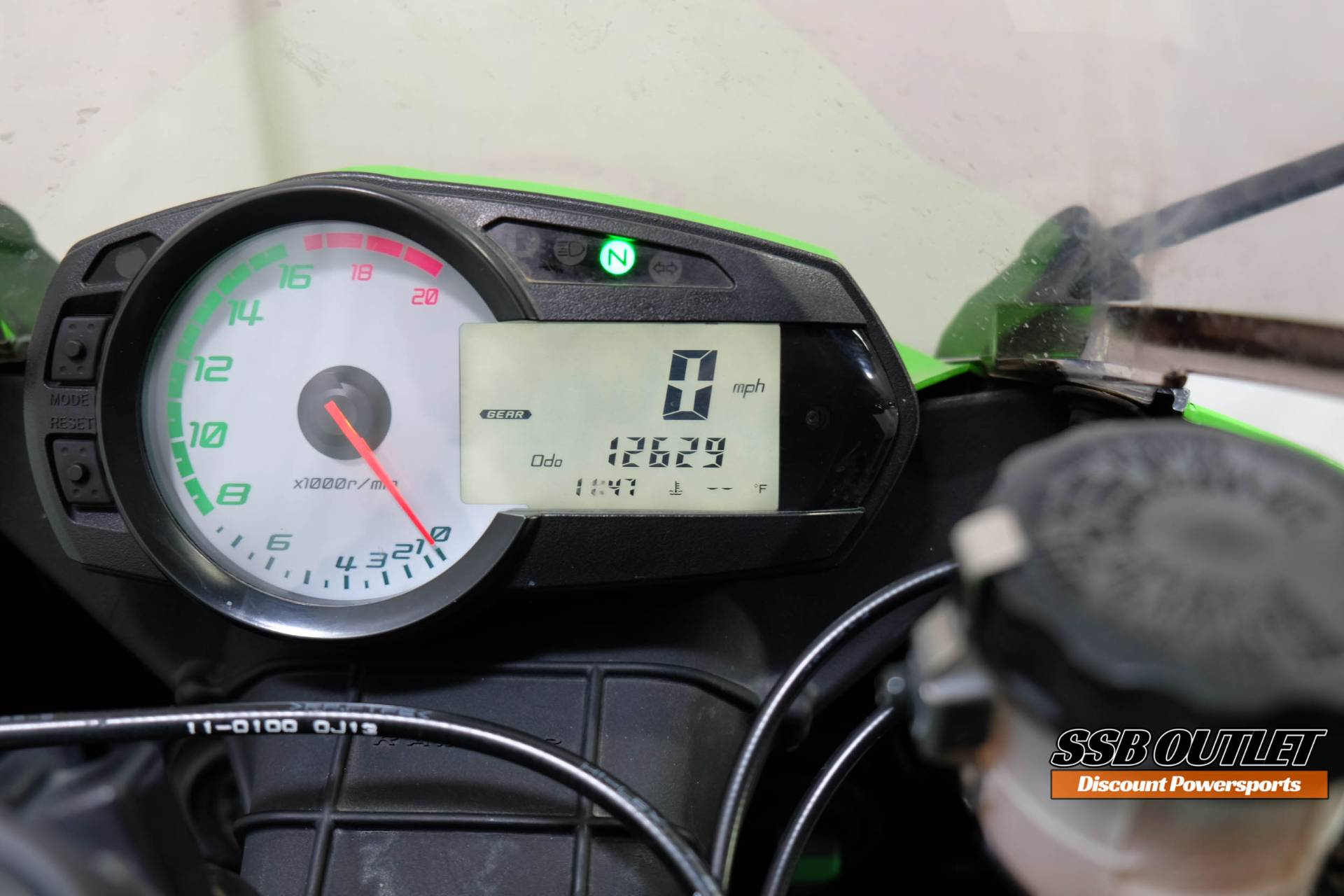 2011 Kawasaki Ninja® ZX™-6R in Eden Prairie, Minnesota - Photo 13