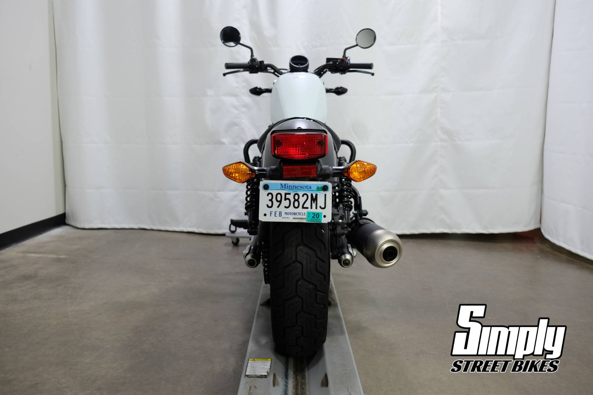 2017 Honda Rebel 300 7