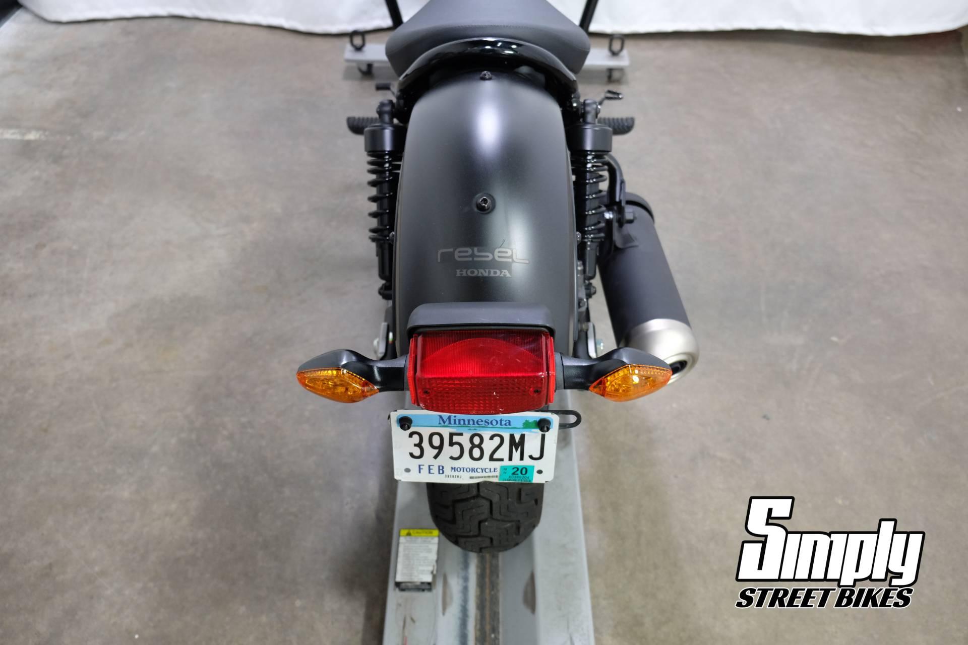 2017 Honda Rebel 300 10