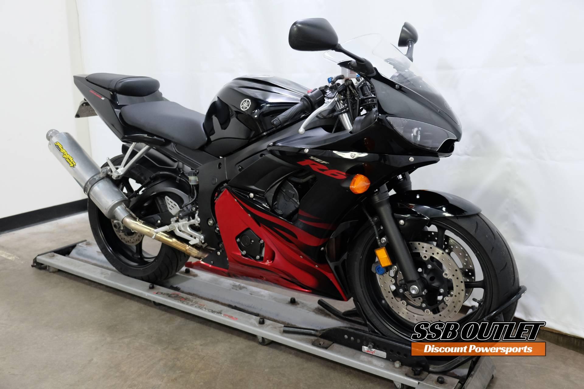 2003 Yamaha YZF-R6 1