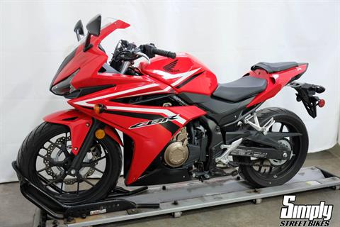 2017 Honda CBR500R in Eden Prairie, Minnesota - Photo 4