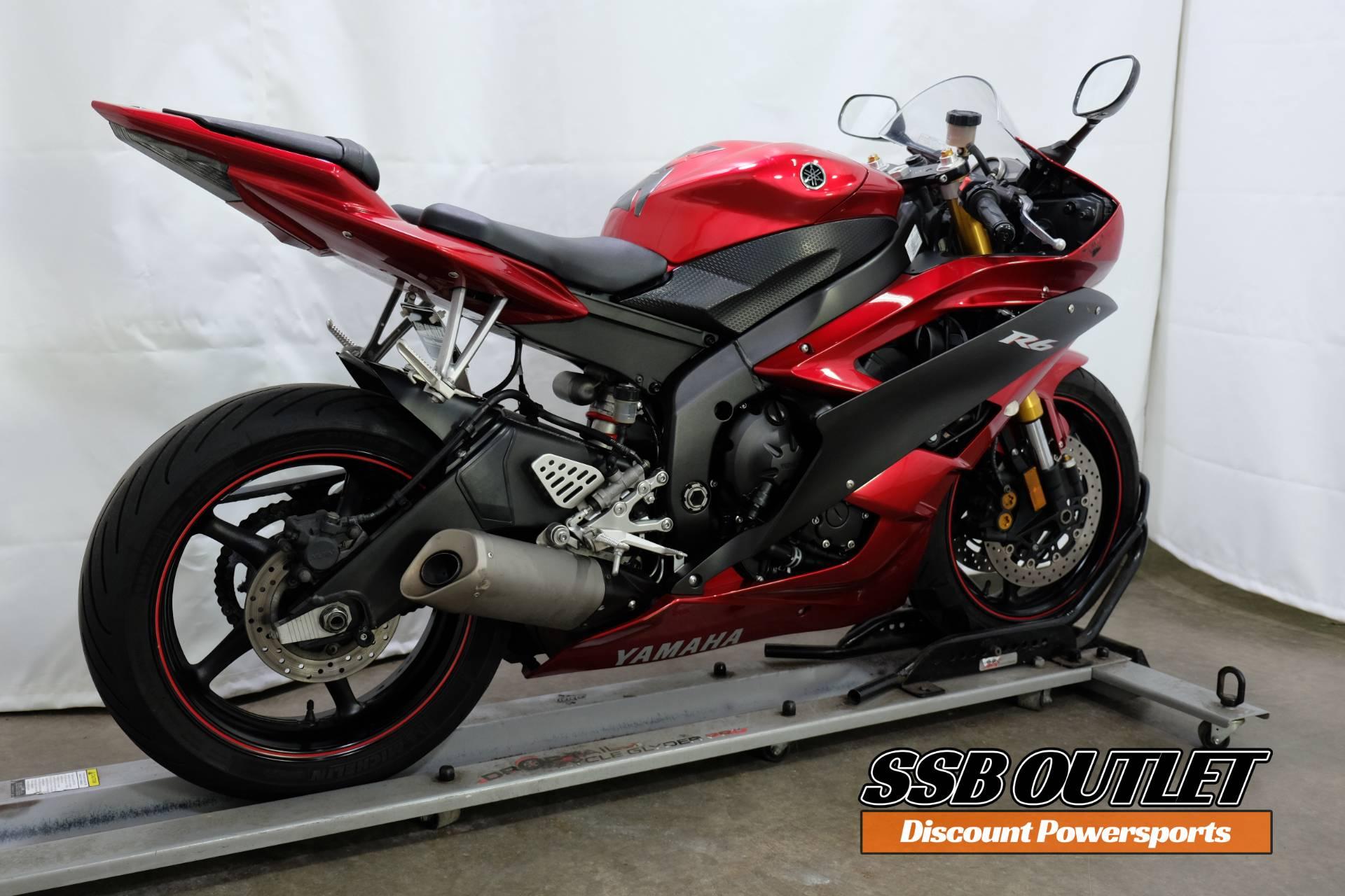 2007 Yamaha YZF-R6 6