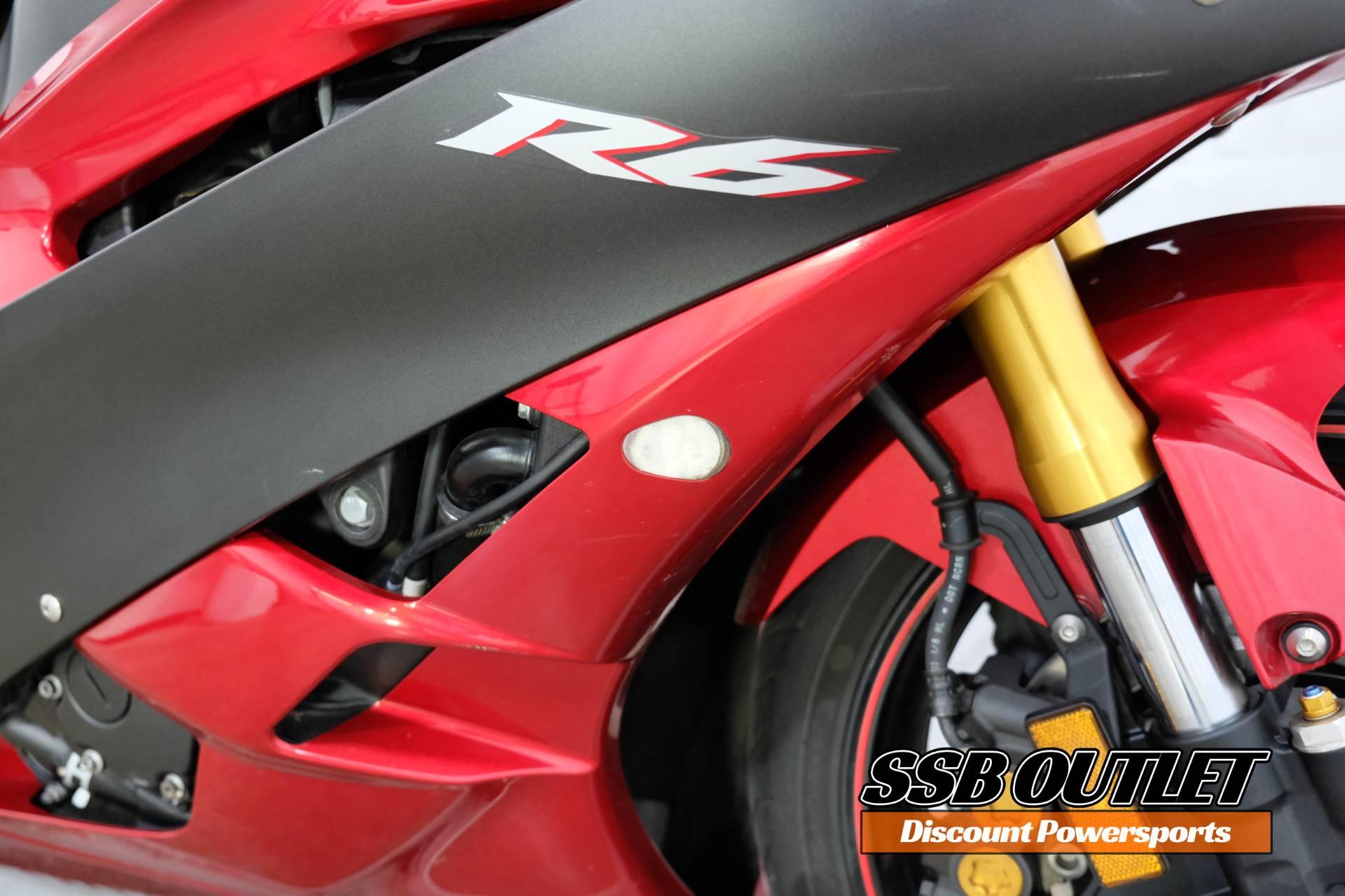 2007 Yamaha YZF-R6 12