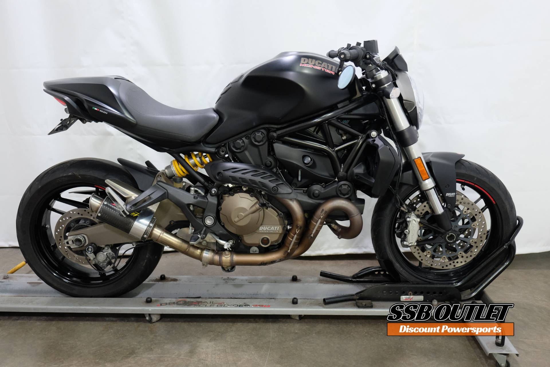 2015 Ducati Monster 821 Dark in Eden Prairie, Minnesota - Photo 1