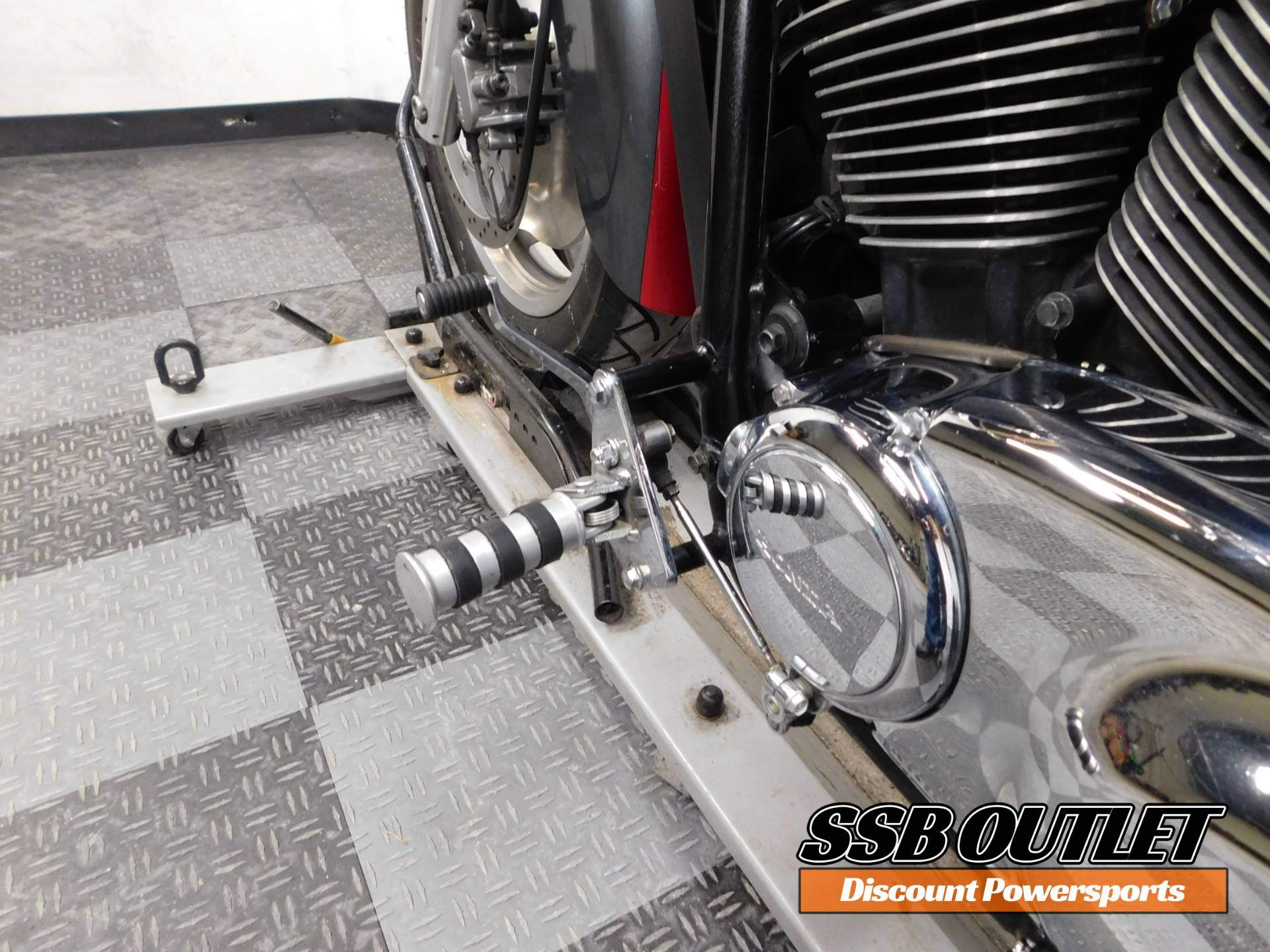 2006 Honda Shadow Spirit 8