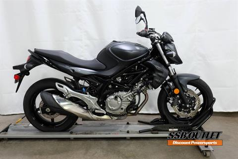2013 Suzuki SFV650 in Eden Prairie, Minnesota - Photo 1