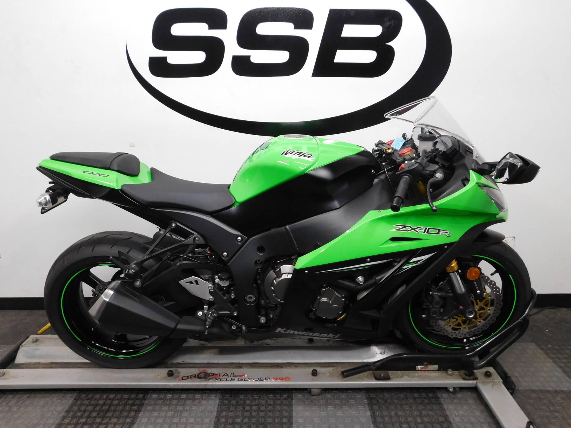 Used 2014 Kawasaki Ninja Zx 10r Abs Motorcycles In Eden Prairie