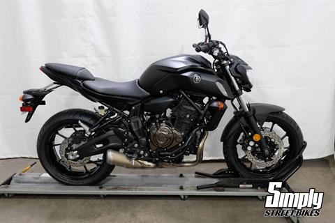 2020 Yamaha MT-07 in Eden Prairie, Minnesota - Photo 1